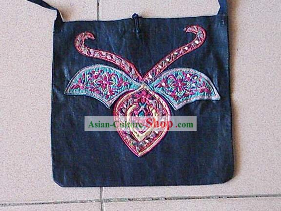 Chinese Miao Tribe Folk Bag