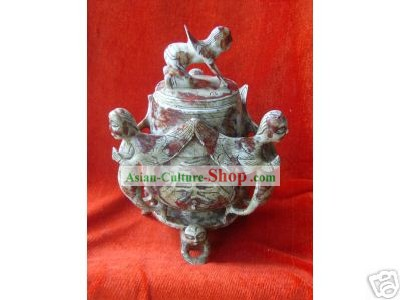 Jade Flying Man Censer