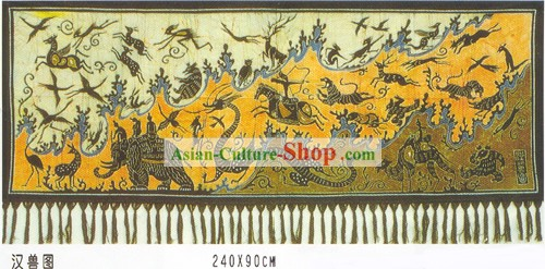 Batik Hanging-Chinese Ancient Treasures