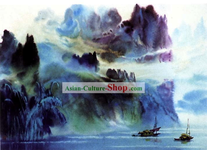 Chinese Landscape Painting-Nature Wonder