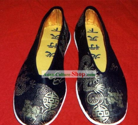 Chinese Hand Made Classic Dragon Shoes