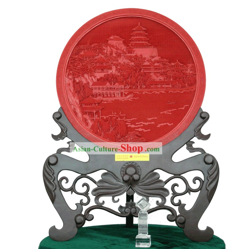Chinese Palace Lacquer Works-The General View of Yi He Yuan (out of stock)