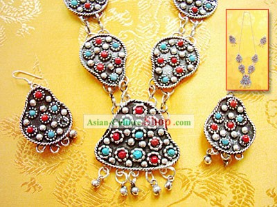 Tibet Stunning Hand Made Jewelry Set