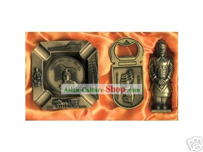 China Classical Terra Cotta Warrior Lighter