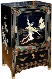 Chinese Traditional Palace Lacquer Ware Cabinet