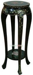 Chinese Palace Lacquer Ware Flower Shelf 1