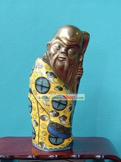 Cloisonne Chinese Confucius