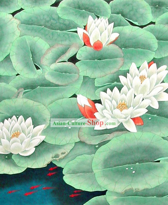 Chinese Traditional Painting-Summer Lotus