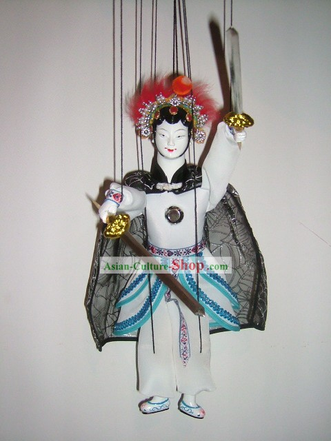 Chinese Classic Hand Puppet-White Snake Fairy