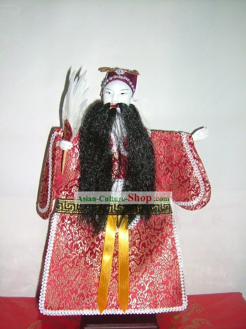 Chinese Classic Hand Puppet-Kong Ming