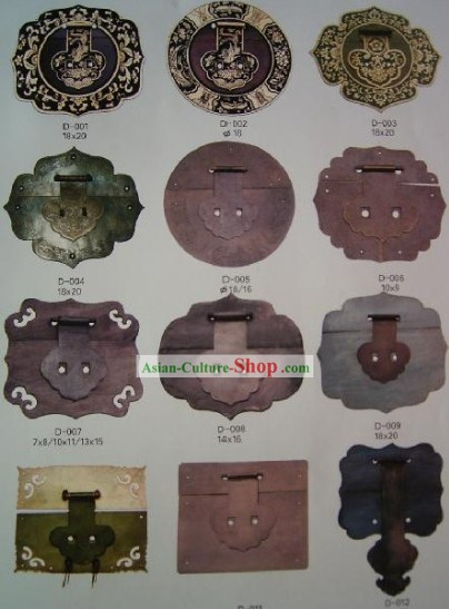 Chinese Archaize Copper Furniture Supplement Home Decoration 20