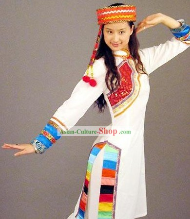 Lagu Minority Traditional Dance Costume for Woman