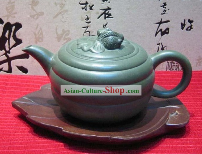 Chinese Hand Made Birch Wooden Kettle Mat