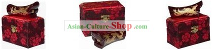 Chinese Hand Made Liuzhou Phoenix Coffin