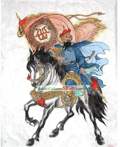 Chinese Traditional Painting by Painter Tang Yun-Yue Fei