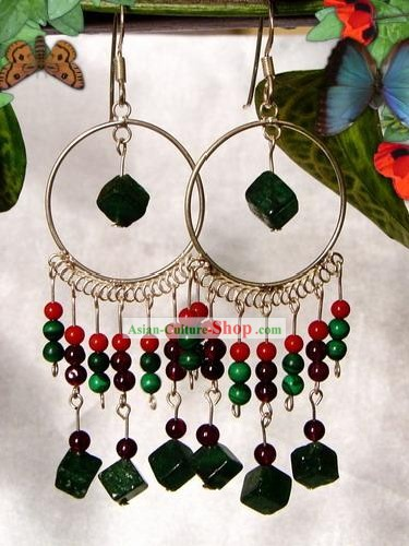 Indian Bohemia Fashion Earrings-Forest Lady
