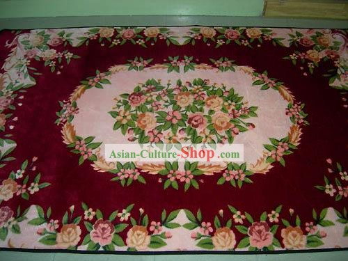 Art Decoration Chinese Thick Nobel Flowery Rug/Carpet (238*150cm)