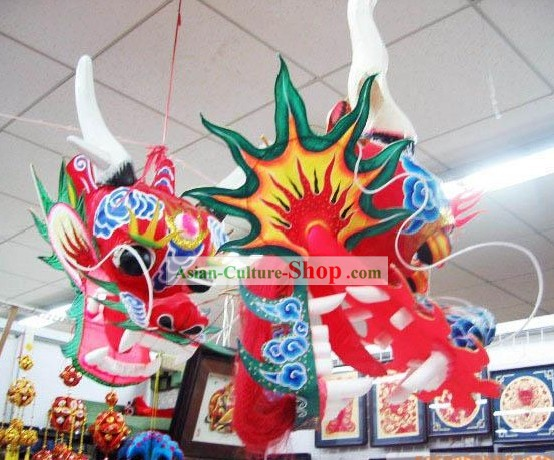 866 Inches Chinese Traditional Hand Made and Painted Kite - Long Dragon