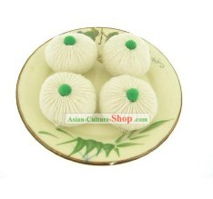 Cute Hand Made Velvet Small Steamed Bun