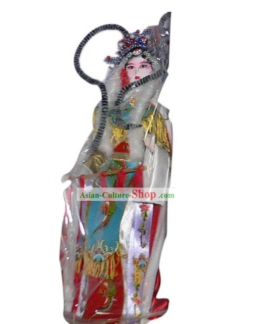 Handmade Peking Silk Figurine Doll - Wang Zhaojun (one of ancient four beauties)