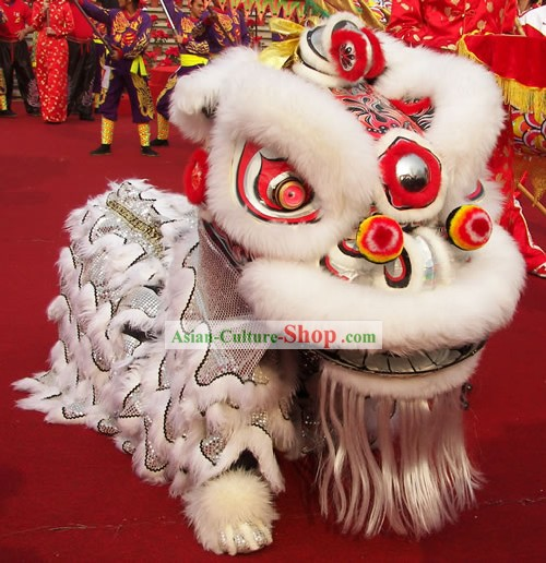 Top Chinese Classic Lion Dance Costumes Complete Set