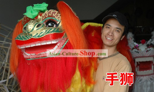 Chinese  Hand Lion Costumes for Men