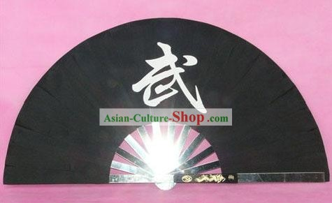 Chinese Professional Stainless Steel Taiji and Kung Fu Fan