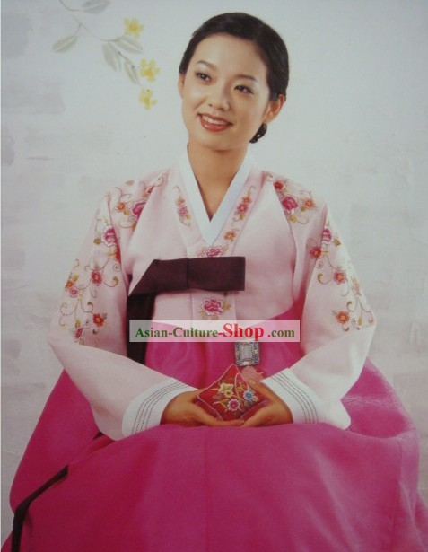 Korean Classic 100 Percent Handmade Korean Hanbok for Woman