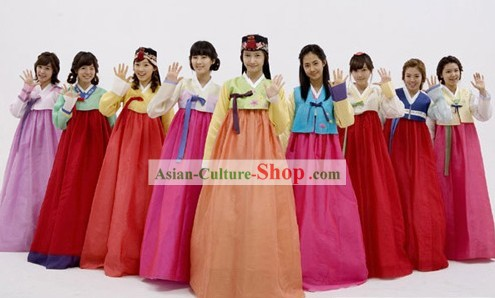Custom Made Korean Hanbok According to Your Requirements