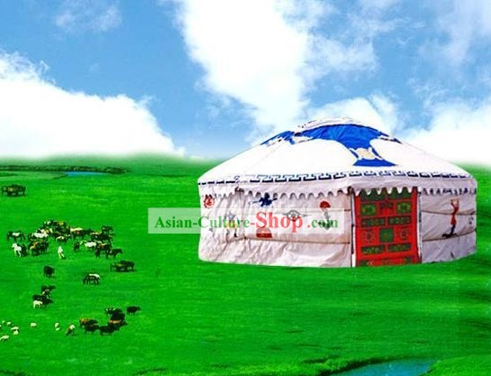 Chinese Traditional Large Mongolian Yurt
