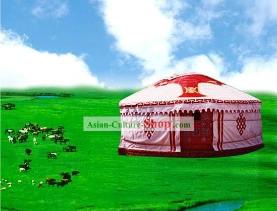 Chinese Traditional Mongolian Yurt