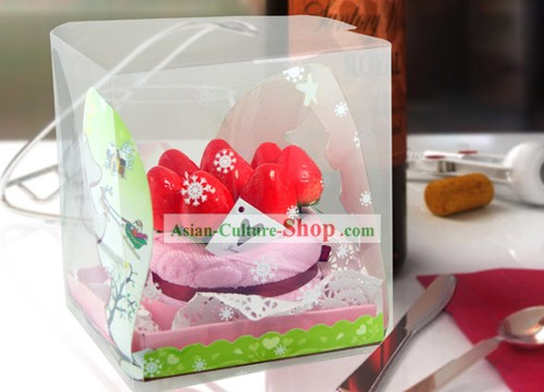 Towel Cotton Cake - Christmas and New Year Gift