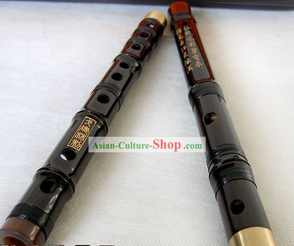 Chinese Classic Rosewood Bamboo Flute