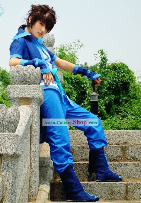 COSPLAY Ancient China Swordsman Costumes Complete Set