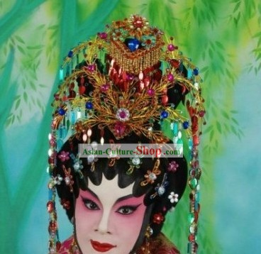 Traditional Chinese Ancient Hair Decoration Complete Set for Women (phoenix)