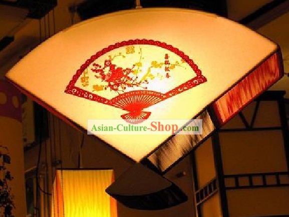 Chinese Large Hand Made Papercut Ceiling Lantern