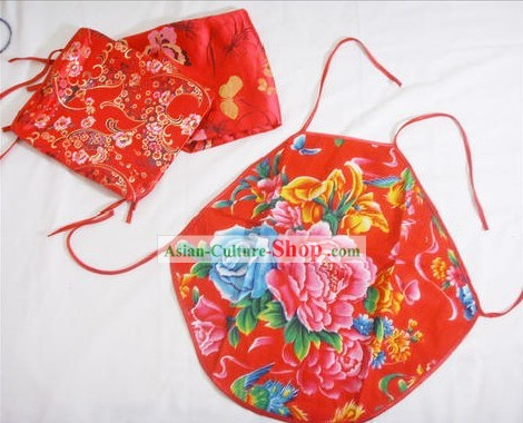 Chinese Classical Folk Red Bellyband