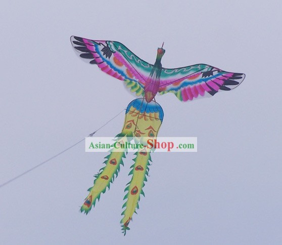 Chinese Traditional Hand Painted Phoneix Kite