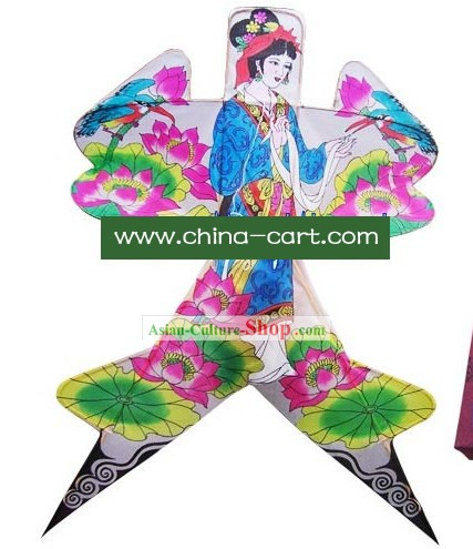 Chinese Classical Hand Painted Kite - Xi Shi