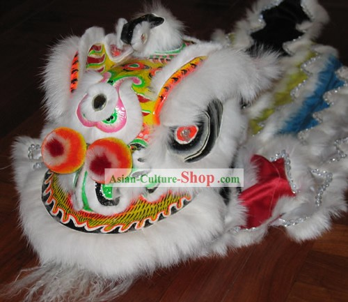Supreme Chinese Handmade Baby Lion Dance Costume Complete Set