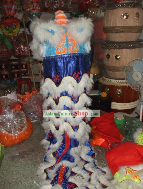 Hands Holding Luminous Lion Costumes with Pole (glow in dark)