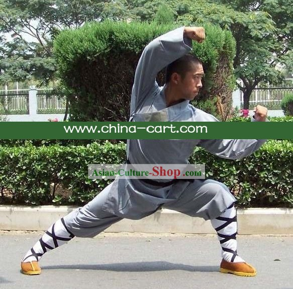 Shaolin Wushu Training Clothes/Chinese Monk Costume