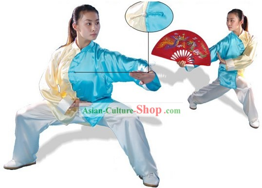 Chinese Professional Tai Chi Male and Female Principle Uniform for Women