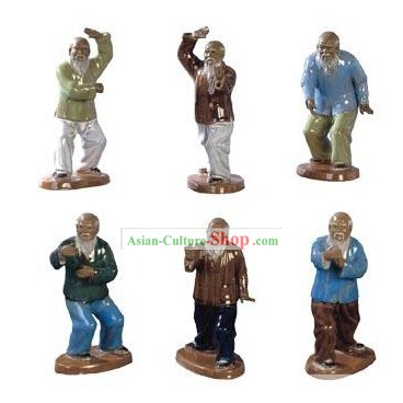 Chinese Tai Chi Figurines/Tai Chi Ceramic Figures/Tai Chi Ornaments/Tai Chi Sculpture