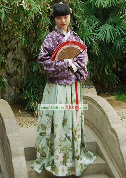 Ancient Chinese Clothing Complete Set for Women