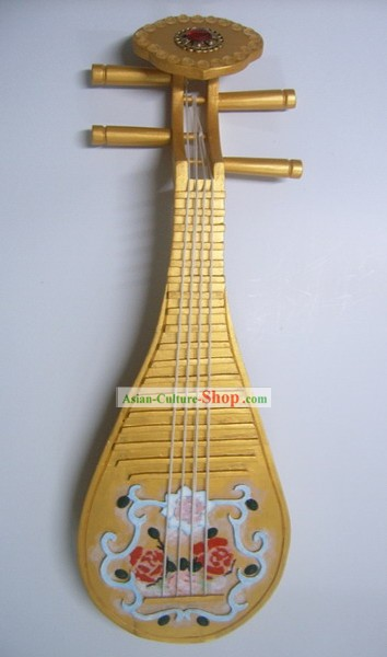 Handmade Chinese Ancient Dance Prop Large Lute