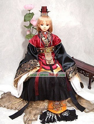 China Ancient Prince Child Costume Complete Set