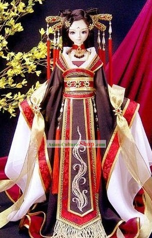 China Ancient Phoenix Dance Costume for Women