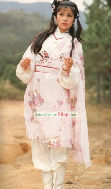 Huang Rong Costumes of The Legend of the Condor Heroes