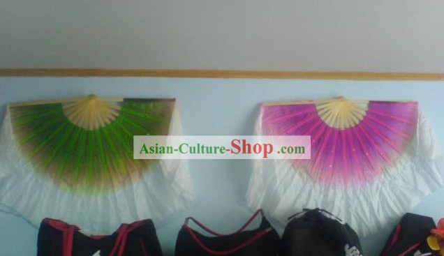 Double Side Silk Dance Fan